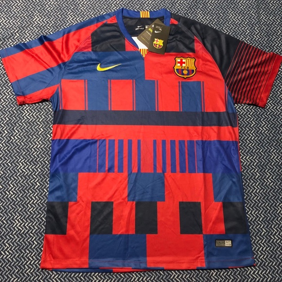 a52776520 FC Barcelona Jersey 20th Anniversary 2018 2019
